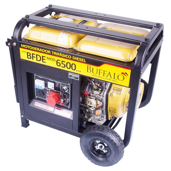 GERADOR BUFFALO BFDE 6500 -  perfuratriz elétrica