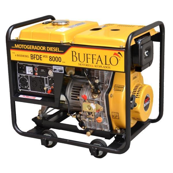 GERADOR BUFFALO BFDE 8000 -  compactadora de solos
