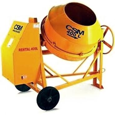 BETONEIRA CSM RENTAL 400L -  compactadora de solos