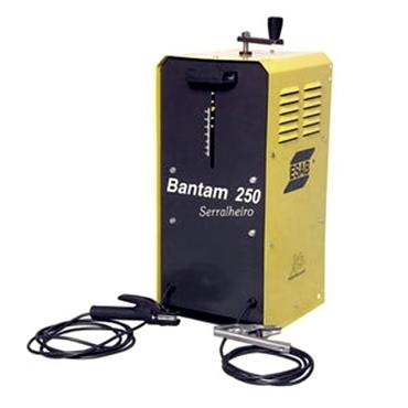 RETIFICADOR DE SOLDA BANTAM 250 -  fresadora e politriz