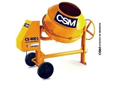 BETONEIRA CSM CS 400 LITROS -  rompedor de concreto